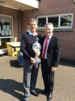 Irish Open Trophy Visits St Joseph's!