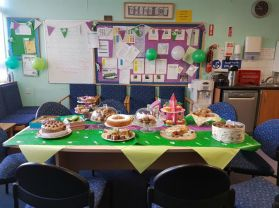 Staff Bake Off for MacMillan Coffee Morning