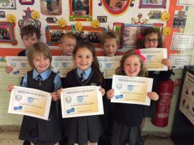 September Award Winners!