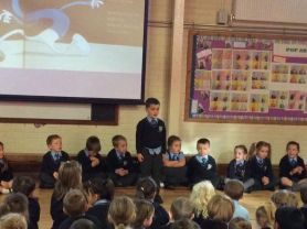 St Joseph's celebrate National Poetry Day