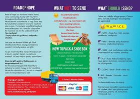Road of Hope Shoebox Appeal 2016