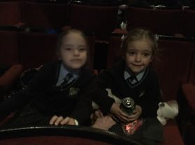 St Joseph's go to the Pantomime at the Grand Opera House