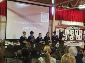 P7 Leavers' Mass and Prize Giving