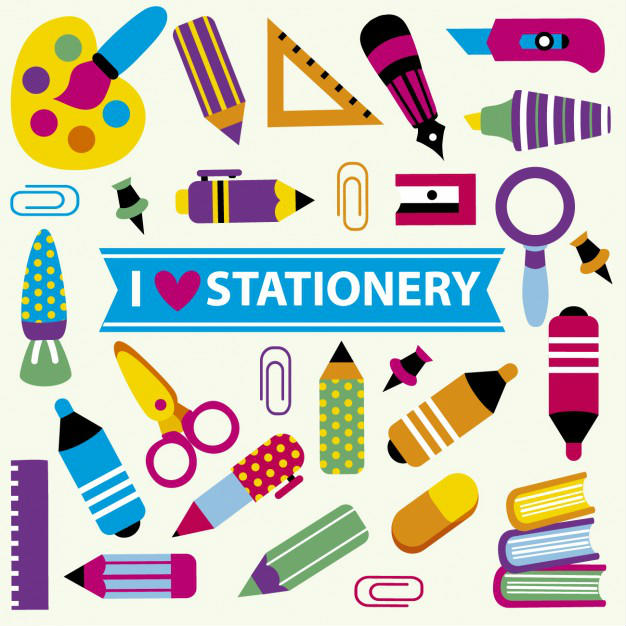 Stationery List For The New Term