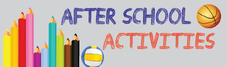 after school activities information term 1 2018