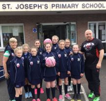 New Netball Kit Sponsored by Brian Magee