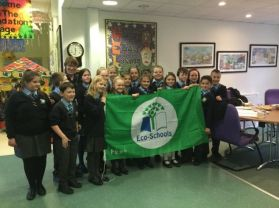 St Joseph's achieves the Eco School Green Flag Award!