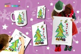 PTA Christmas Card Designs