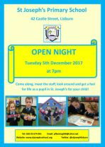 St Joseph's Open Night