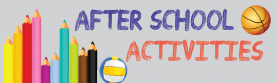 After School Activities Term 1 2019