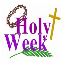 Holy Week and Easter Resources