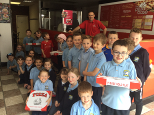 P3 PTA Pizza Party Prize from Pizza Base, Castle Street